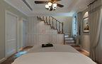 富裕型140平米别墅混搭风格楼梯图