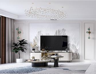 130平米四美式风格客厅装修效果图