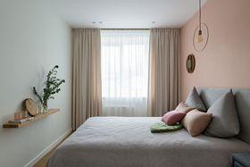 富裕型50平米一室一厅北欧风格卧室图片
