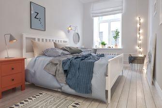 70平米一室两厅北欧风格卧室效果图