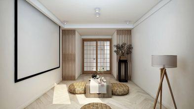120平米三室两厅日式风格楼梯间装修图片大全
