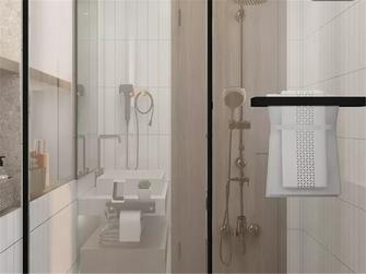 100平米三室两厅北欧风格卫生间设计图