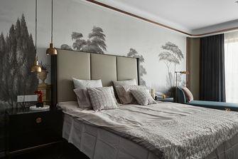 130平米三室一厅混搭风格卧室装修案例
