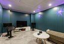 140平米别墅混搭风格影音室欣赏图
