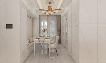 120平米三室三厅混搭风格餐厅图片