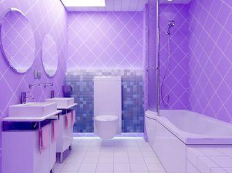 120平米三室三厅宜家风格卫生间图片