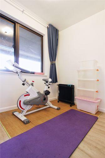 90平米三室两厅现代简约风格健身室图片