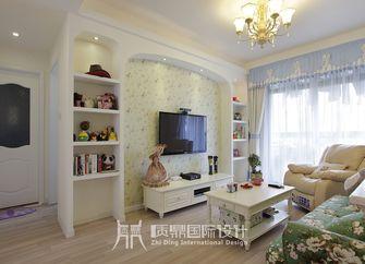 10-15万100平米三室两厅田园风格客厅装修效果图