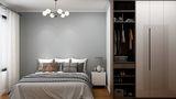 130平米三室一厅新古典风格卧室装修效果图