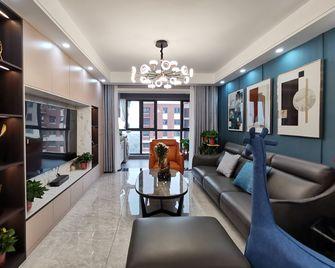 20万以上130平米三室两厅现代简约风格客厅图片大全