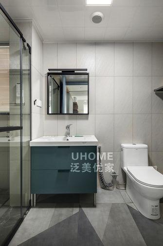 110平米三现代简约风格卫生间图片