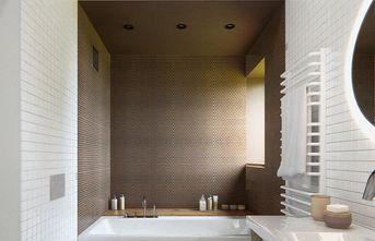 富裕型70平米公寓英伦风格卫生间效果图