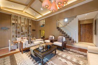 120平米复式东南亚风格客厅图