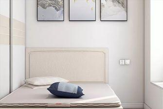 70平米北欧风格卧室装修案例