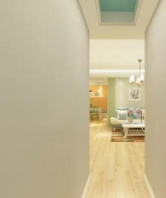 130平米三田园风格卧室效果图
