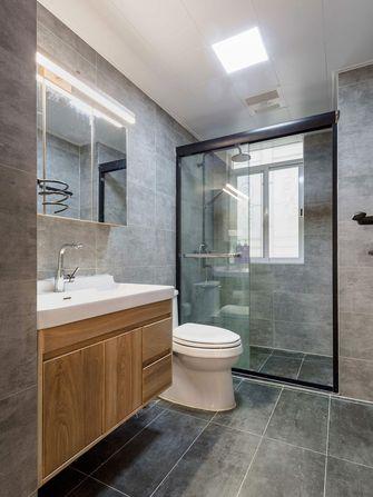 110平米三室两厅日式风格卫生间设计图