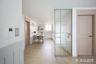 110平米三室两厅英伦风格玄关图片