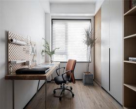 100平米三室一廳現代簡約風格書房效果圖