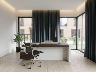 140平米三室一厅现代简约风格书房装修图片大全
