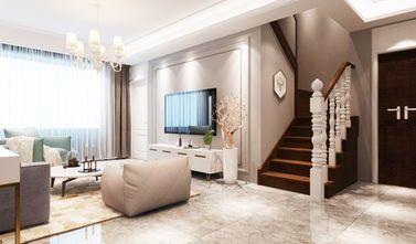 140平米四室两厅现代简约风格楼梯间图片