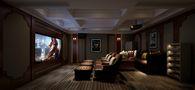 140平米别墅地中海风格影音室效果图