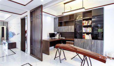 130平米三室两厅中式风格书房设计图