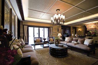 110平米三室一厅东南亚风格客厅设计图