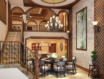 140平米别墅东南亚风格餐厅欣赏图