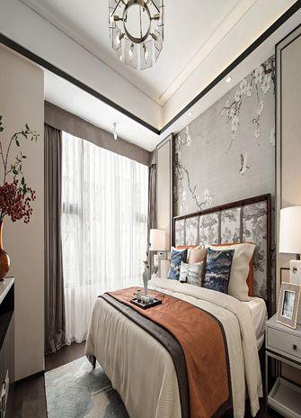 120平米四室一厅中式风格卧室装修图片大全