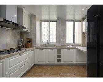 110平米三室一厅美式风格厨房设计图