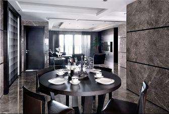 130平米三室两厅英伦风格餐厅图片