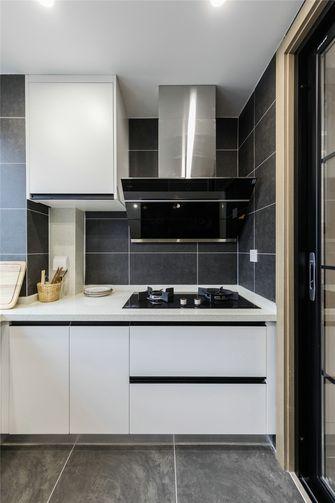 100平米现代简约风格厨房装修案例