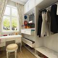 富裕型140平米三室两厅北欧风格衣帽间鞋柜欣赏图