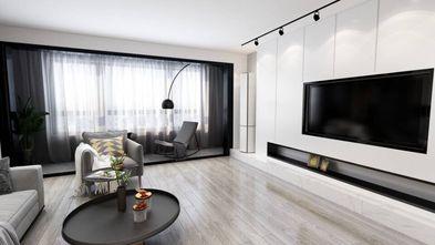 富裕型90平米三室两厅宜家风格客厅装修效果图