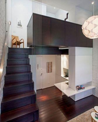 经济型110平米宜家风格楼梯装修图片大全