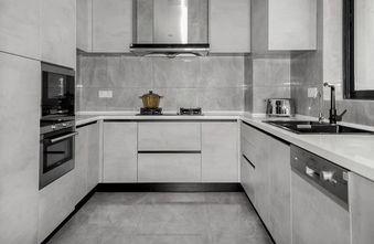 140平米三室一厅美式风格厨房图