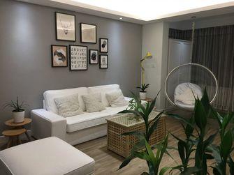 80平米宜家风格客厅图片