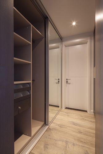 140平米三室两厅混搭风格衣帽间图