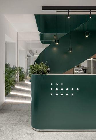 140平米混搭风格楼梯间设计图