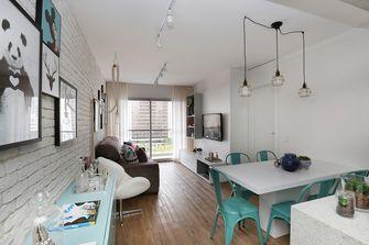 50平米一居室北欧风格餐厅效果图