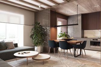 80平米东南亚风格客厅装修效果图