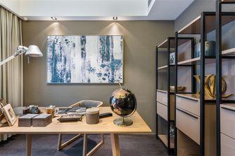 120平米三现代简约风格书房欣赏图