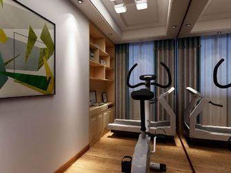 100平米三现代简约风格健身室图