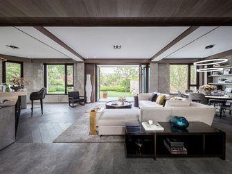140平米复式混搭风格客厅设计图