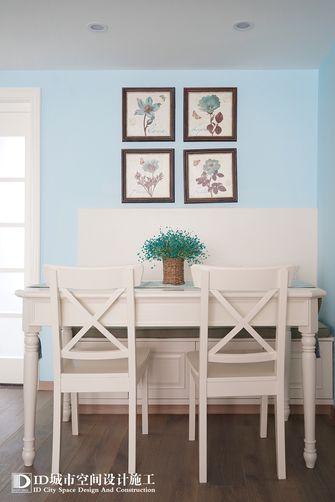 60平米一室两厅美式风格餐厅图