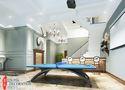 140平米别墅北欧风格健身室图片大全