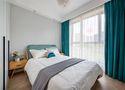 80平米一室一厅北欧风格卧室图