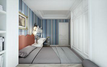 120平米三室两厅法式风格卧室设计图