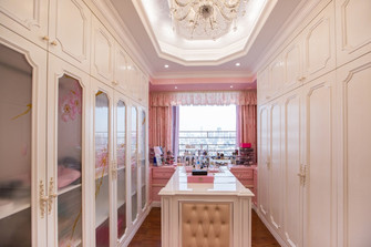 140平米四室三厅法式风格衣帽间图片