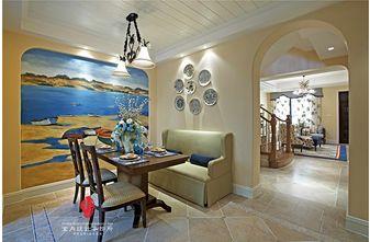 富裕型140平米别墅美式风格楼梯装修效果图